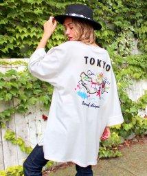 ANAP/TOKYO MAPプリントBIGTシャツ/001981251