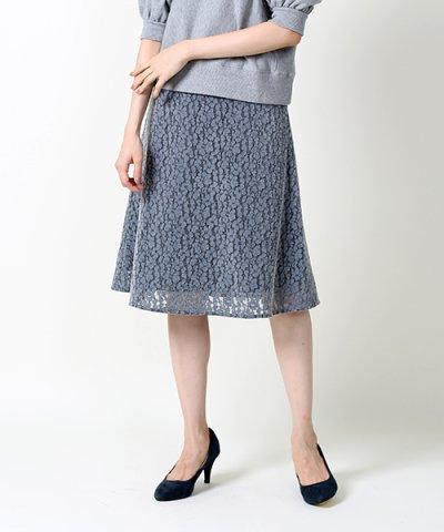 フロッキーフレアスカート