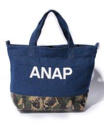 ANAP KIDS/柄切替キャンバストートBAG/001987798