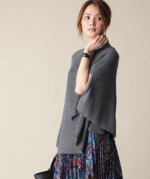 JIYU-KU /【SETアイテム・洗える】メリノブレンドポンチョ・タンクトップ/001997866