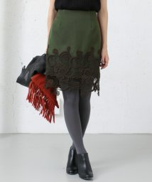 URBAN RESEARCH/【UR】裾レースタイトスカート/001990644