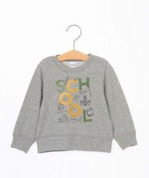 SHIPS KIDS/SHIPS KIDS:ミニ裏毛 ロゴカラー スウェット(80~90cm)/001999896