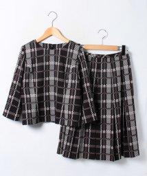 Leilian/ブラウス×スカートセットアップ/10238929N