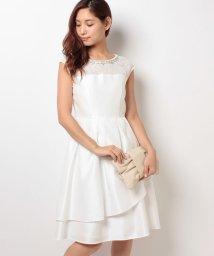 form forma/【ウェディングドレス】レース×シャンタン ショートウェディングドレス/001984245
