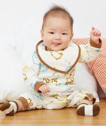 baby ampersand / F.O.KIDS MART/マスキングテープくまさん柄カバーオール/002000395