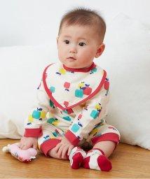 baby ampersand / F.O.KIDS MART/りんご柄カバーオール/002000396