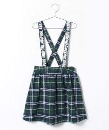 ANAP GiRL/タータンチェックサスペ付スカート/001992451