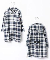 ANAP KIDS/3パターン ロングシャツ/001994350