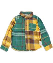 F.O.KIDS / F.O.KIDS MART/クレイジーチェックシャツ/002004015