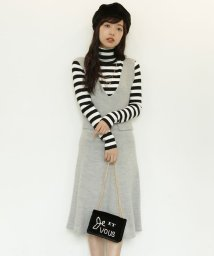 ROPE' PICNIC/【WEB限定】アルパカ混イタリー糸ジャンパースカート/002009996