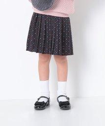 ROPE' PICNIC KIDS/KIDS幾何学プリントプリーツスカート/002005368