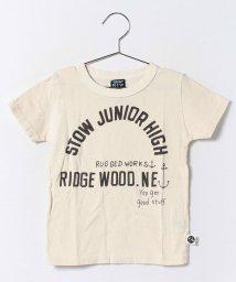 RUGGEDWORKS/マリンプリント半袖Tee/001999731