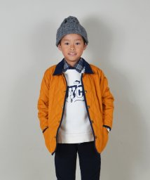 SHIPS KIDS/SHIPS KIDS:ソリッド キルティング ジャケット(100~130cm)/002012199