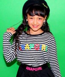 ANAP GiRL/カラフルロゴロングTシャツ/002000911