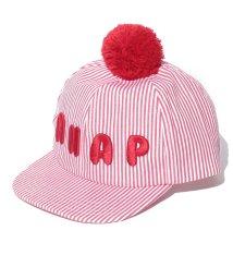 ANAP KIDS/ヒッコリーポンポン帽/002002341