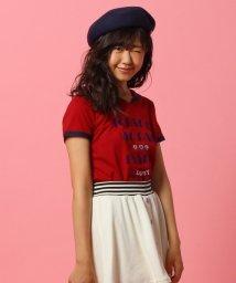 PINK-latte/ロゴプリントセーラーTシャツ/002013978
