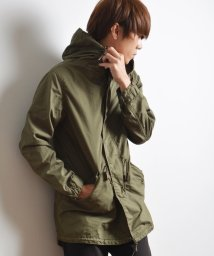 SHIPS JET BLUE/ALPHA×SHIPS GENERAL SUPPLY: 別注 M−51 コットン モッズコート/002014717