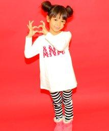 ANAP KIDS/13色スーパーストレッチ 10分丈パンツ/002000916
