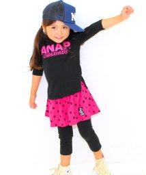 ANAP KIDS/7色スーパーストレッチ 7分丈スカッツ/002000917