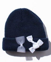 petit main/ミニリボン付きニット帽/002001158