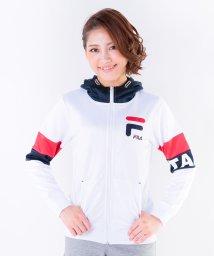FILA/杢リバーメッシュ配色ジップパーカー/002006070