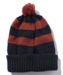 petit main/ボーダーポンニット帽/002001159