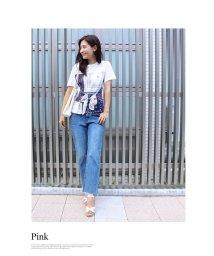 MODE ROBE/バンダナドッキングTシャツ/002015810