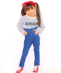 ANAP KIDS/ハイウエストデニムロングパンツ/002004559