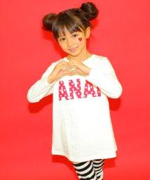 ANAP KIDS/ドットロゴAラインチュニック/002004561