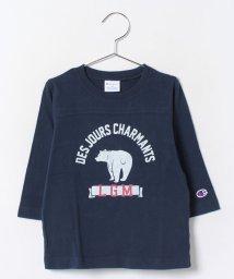 LAGOM/チャンピオン別注七分袖Tシャツ/002005831