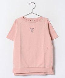 LAGOM/ミニ裏毛チビ刺繍チュニック/002005832