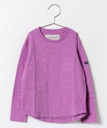 petit main/UネックロングTシャツ/002006349