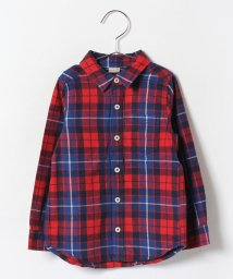 petit main/BOY'Sチェックシャツ/002006353