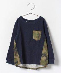 petit main/背中迷彩Tシャツ/002006354