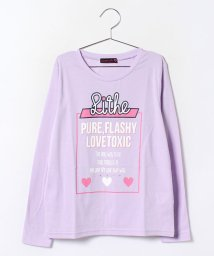 Lovetoxic/ボックスロゴプリント入りTシャツ/002006455