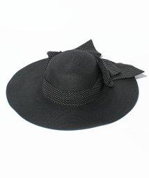 STRAWBERRY FIELDS/ビッグリボン女優帽/002010801