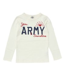 apres les cours / REDDY APPLESEED/ARMY長袖Tシャツ/002017309