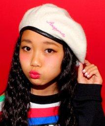 ANAP GiRL/ロゴ刺繍ベレー帽/002009618