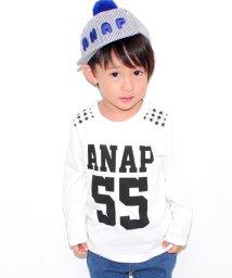 ANAP KIDS/スタースタッズロングTシャツ/002009904