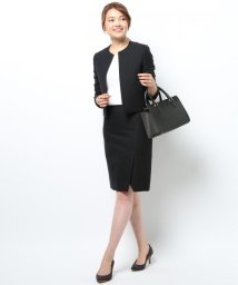 NIJYUSANKU/【スーツ】ウールストレッチツイル スカート/002020532
