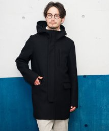 green label relaxing/KC W/CLOTH HOODED フード付きコート glrb/002022815