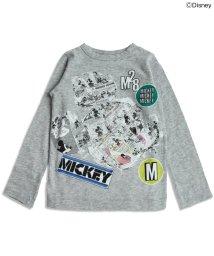 BREEZE / JUNK STORE/Disney(ディズニー) ミッキー長袖Tシャツ/002022969
