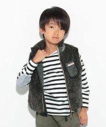 KRIFF MAYER(Kids)/シャギーボアベスト/002015493