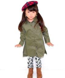 ANAP KIDS/フラワーカモフラ柄裾クシュレギパン/002017401