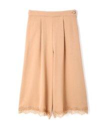 PROPORTION BODY DRESSING/ビジューパンツ裾レース/10241032N