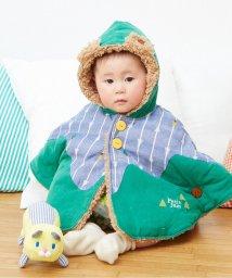Petit jam / F.O.KIDS MART/森の動物さんベビーリバーシブルマント/002022998