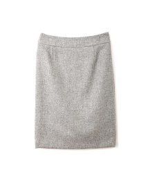 NATURAL BEAUTY BASIC/ウールラメブッチャータイトスカート/10241084N