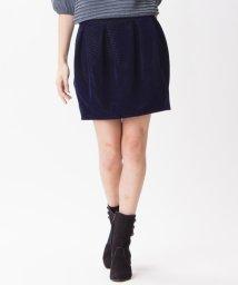 LANVIN en Bleu/ベルベットスカート/LB0002733