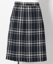 KUMIKYOKU KIDS/【PURETE】ウール綾チェック スカート(リボン付き)/002031780