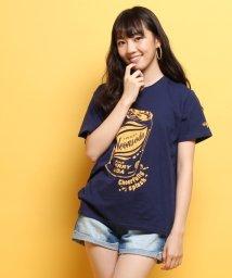 PINK-latte/Neon Soda ロゴソーダTシャツ/002033205